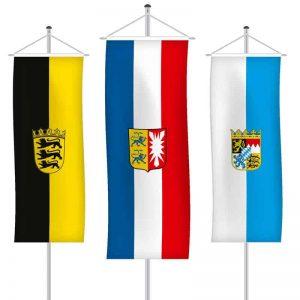 Bundesländerfahnen als Bannerfahne