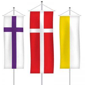 Kirchenfahnen als Bannerfahne