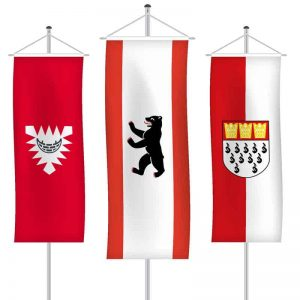 Städte-/Gemeindefahnen als Bannerfahne